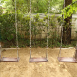 In Quest for Peace Mom Builds New Swing Set from Scratch