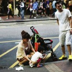 Toddler who urinated on busy Hong Kong street causes firestorm