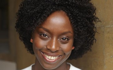 Don't call this woman pretty or beautiful lest you be called a racist. (Photo is author Chimamanda Ngozi Adichie)