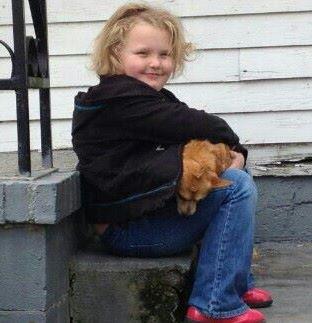 Alana Thompson aka Honey Boo Boo and family struggling with some bad news lately. Photo via Facebook.