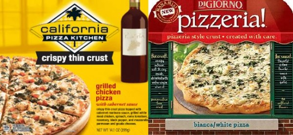 California Pizza Kitchen Frozen Pizza some frozen california pizza kitchen and digiorno pizzas recalled
