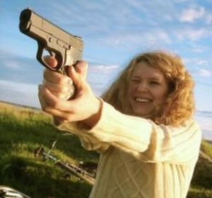 """Armed Citizen Project"" seeks to give single moms free guns and training. Photo via Yarik Mishin."
