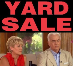 George and Cindy Anthony allegedly hold yard sale to sell off Casey Anthony and Caylee Athony items. Photo via JD Carlson/YouTube.