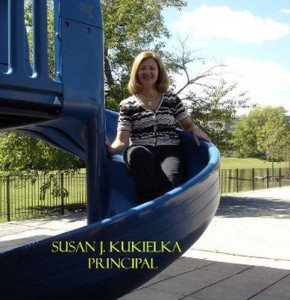 Principal Susan Kukielka, who drew the ire of parents after she allegedly shamed some elementary school girls for wearing short shorts. Photo via decaturclassical.org.