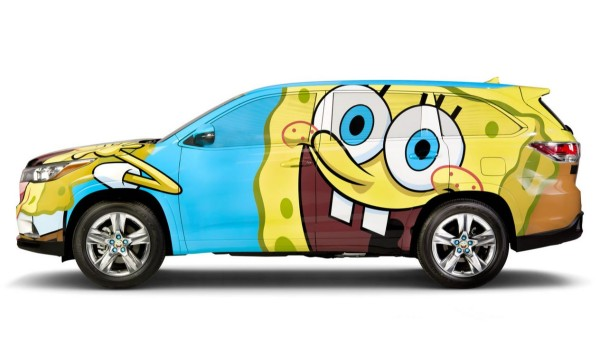 I'm ready! I'm ready! I'm ready! I'm ready for the new Spongebob Hylander SUV. Photo via Toyota.com.