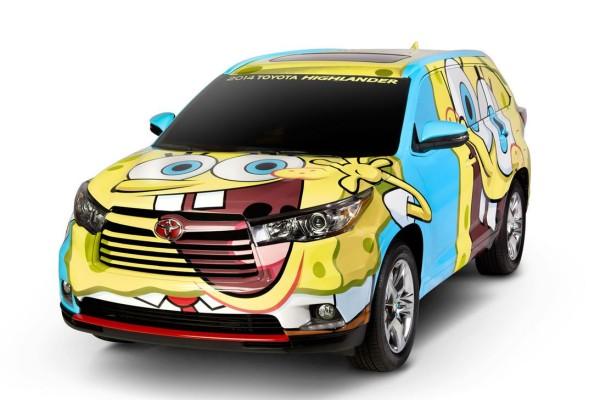Spongey Hylander SUV.