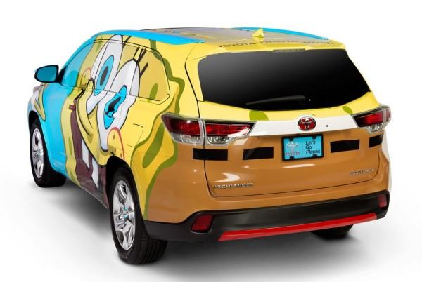 More Spongebob SUV madness. Photo via Toyota.com.