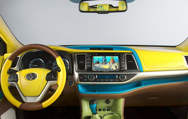 Who lives in a pineapple under the sea? Photo via Toyota.com.