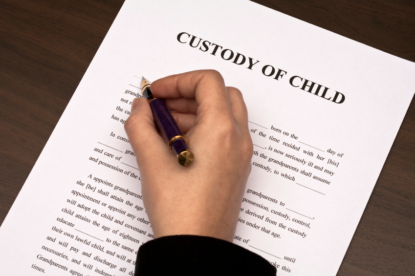 Custody of child document